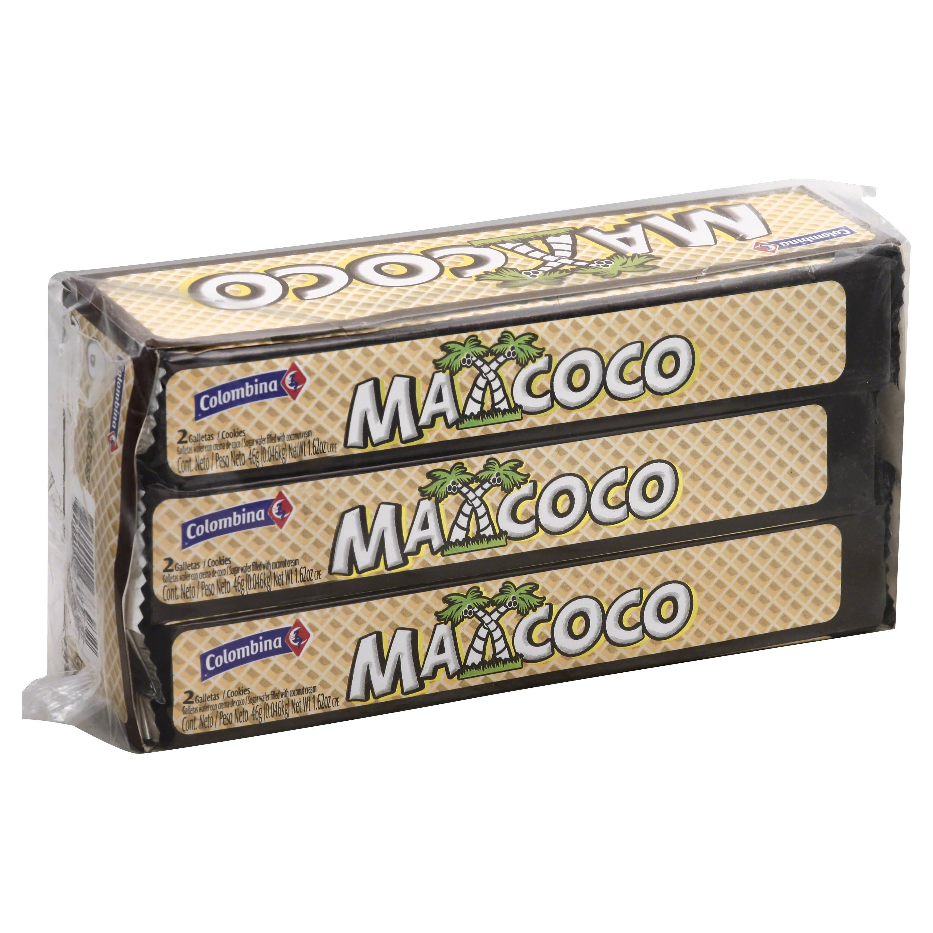 Mexcoco Wafers - Pack of 6