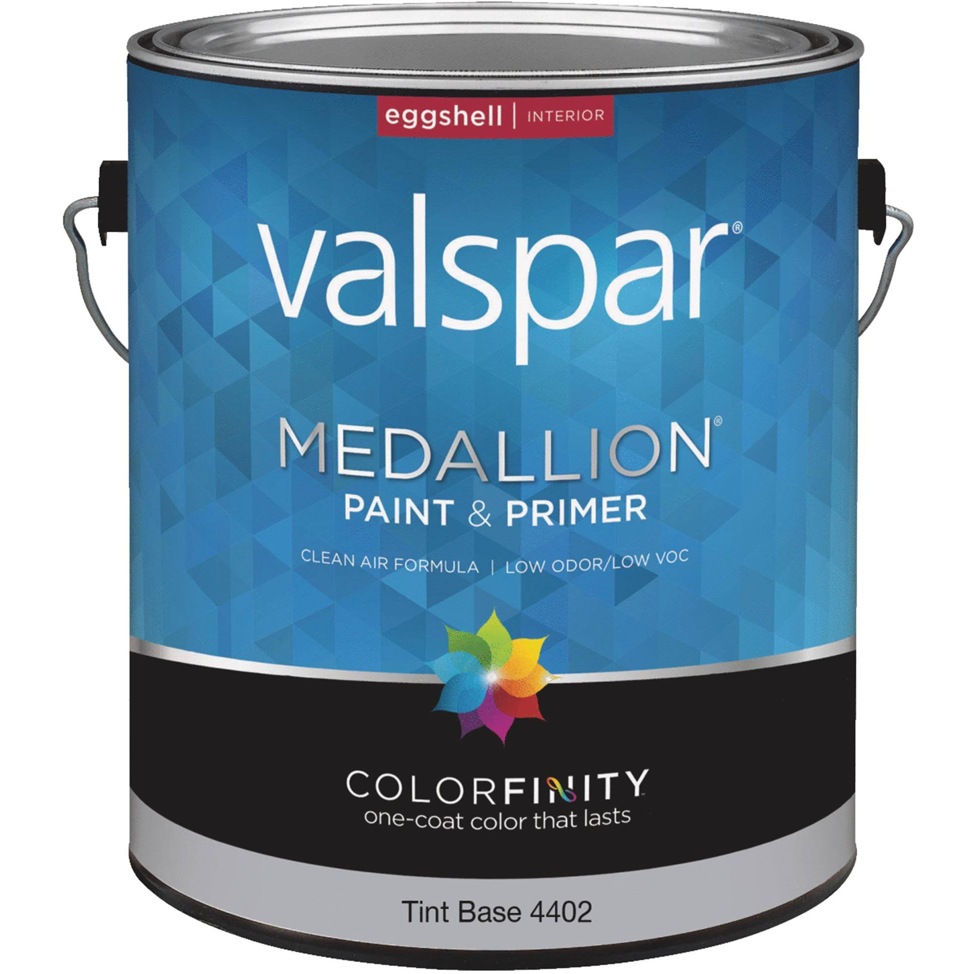 Valspar 027.0004402.007 Interior Eggshell Latex Paint, Tint Base