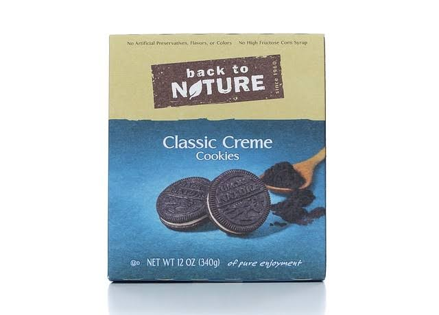 Back to Nature Classic Creme Sandwich Cookies