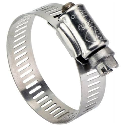 "Ideal Division Stainless Steel Hose Clamp - 3/4"" x 1.5"""