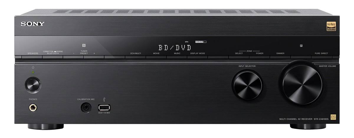 Sony STR-ZA810ES 7.2-Channel Wi-Fi Network AV Receiver