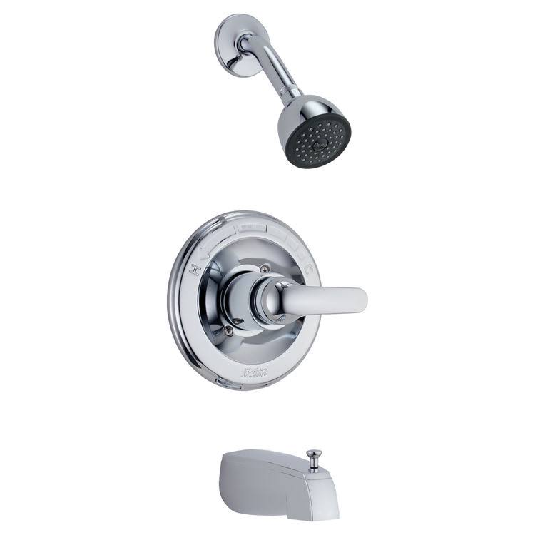 Delta Monitor 13 Series Tub and Shower Trim - Chrome