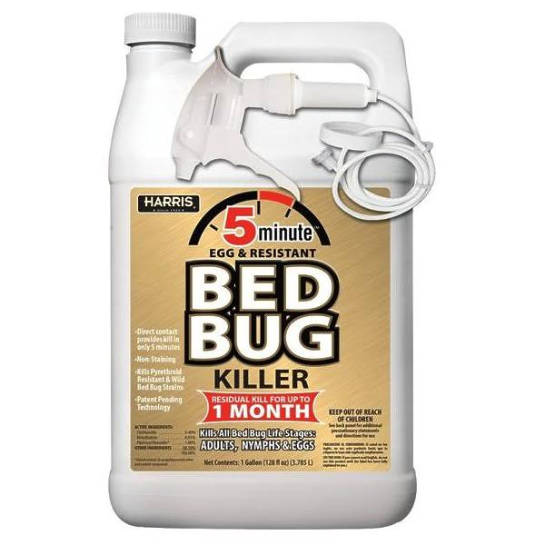 Harris 5 Minute Egg and Resistant Bed Bug Killer - 1gal