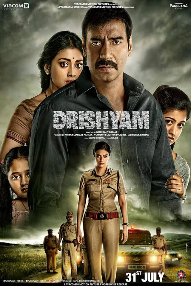 Drishyam Hindi Movie Free Download 2015 720p BluRay