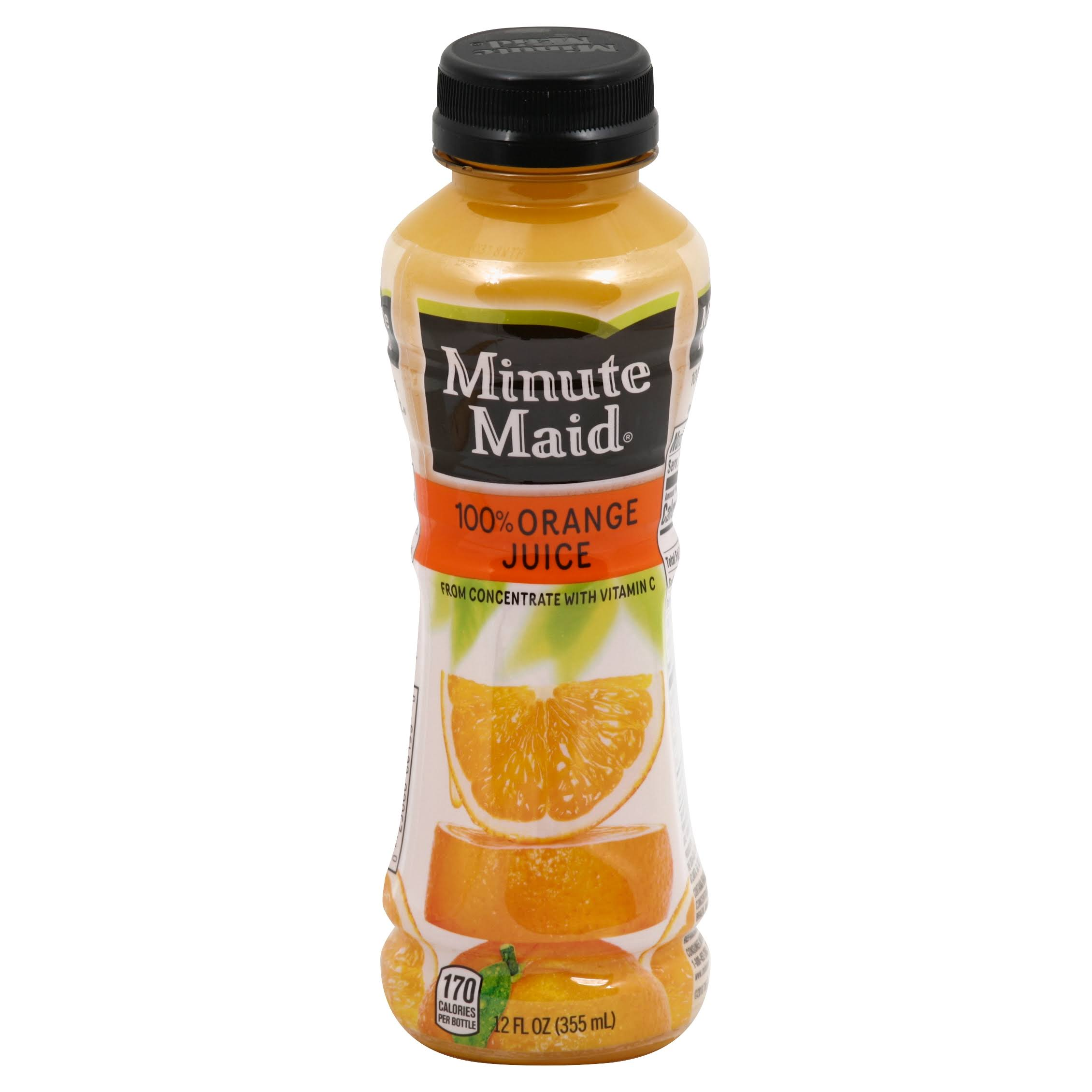 Minute Maid 100% Juice, Orange - 12 fl oz
