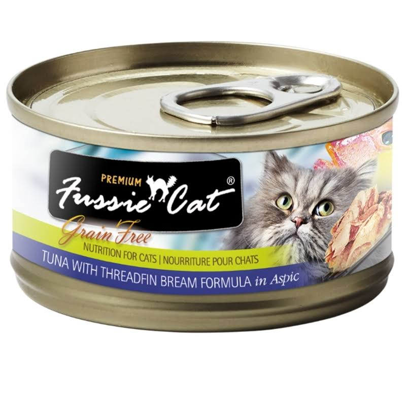 Fussie Cat Food - Tuna With Threadfin Bream Formula In Aspic