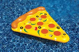 Water Beds N Stuff by Amazon Com Swimlin Giant Inflatable Pizza Slice Toys U0026 Games