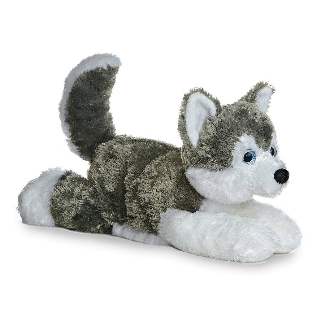Aurora Shadow Siberian Husky Plush Dog