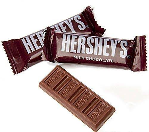 Hershey's Milk Chocolate Bars - Snack Size