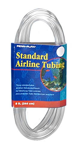 Standard Airline Tubing Air Pump Accessories Flexible Tubing - 8'