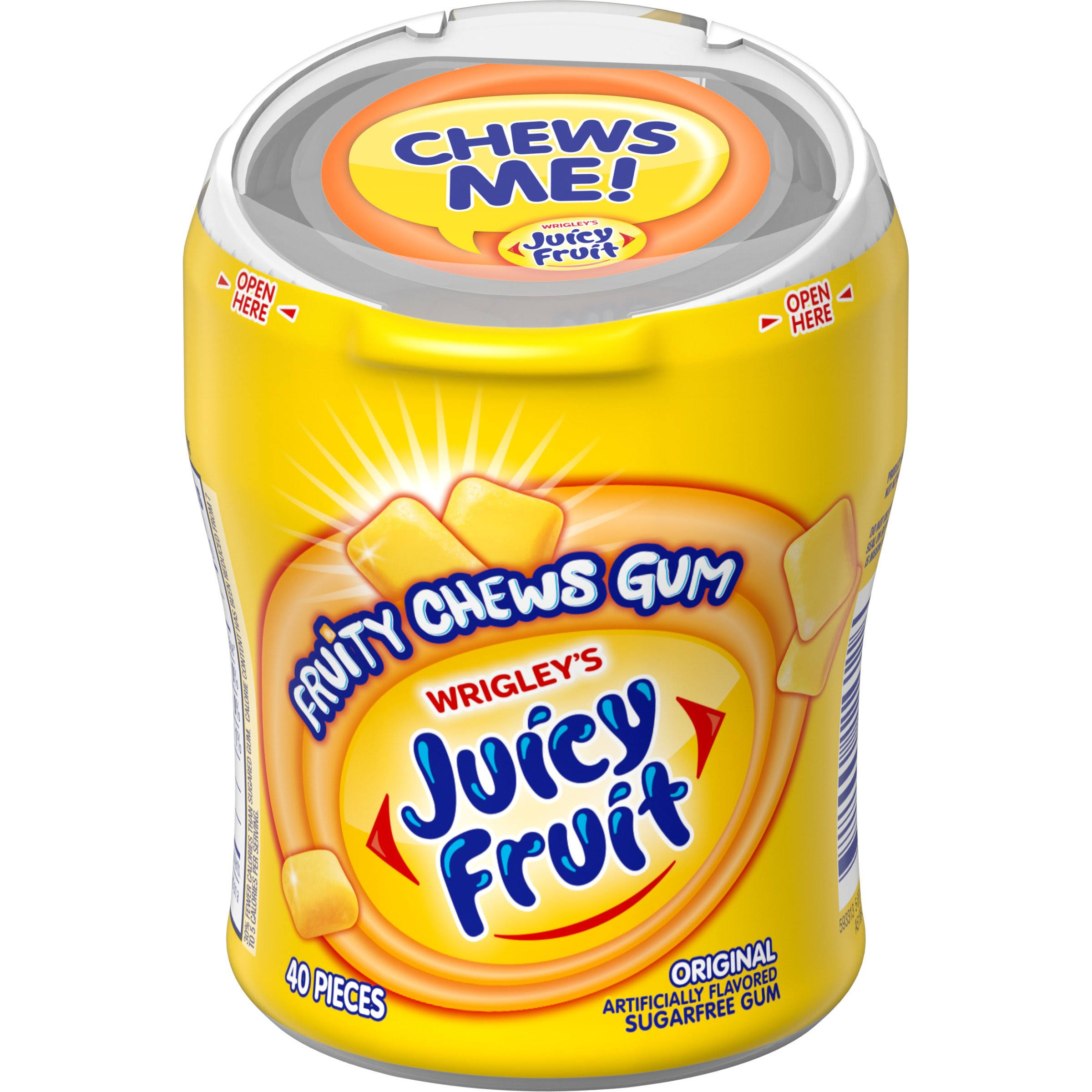 Wrigley's Juicy Fruit Fruity Chews - 40 Pieces