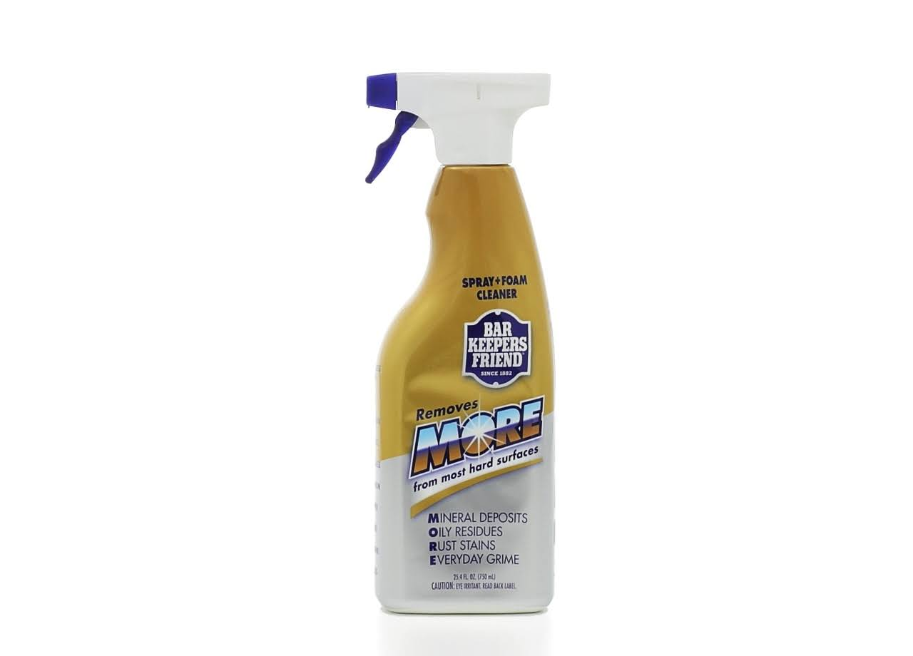 Bar Keepers Friend Trigger Spray + Foam Cleaner