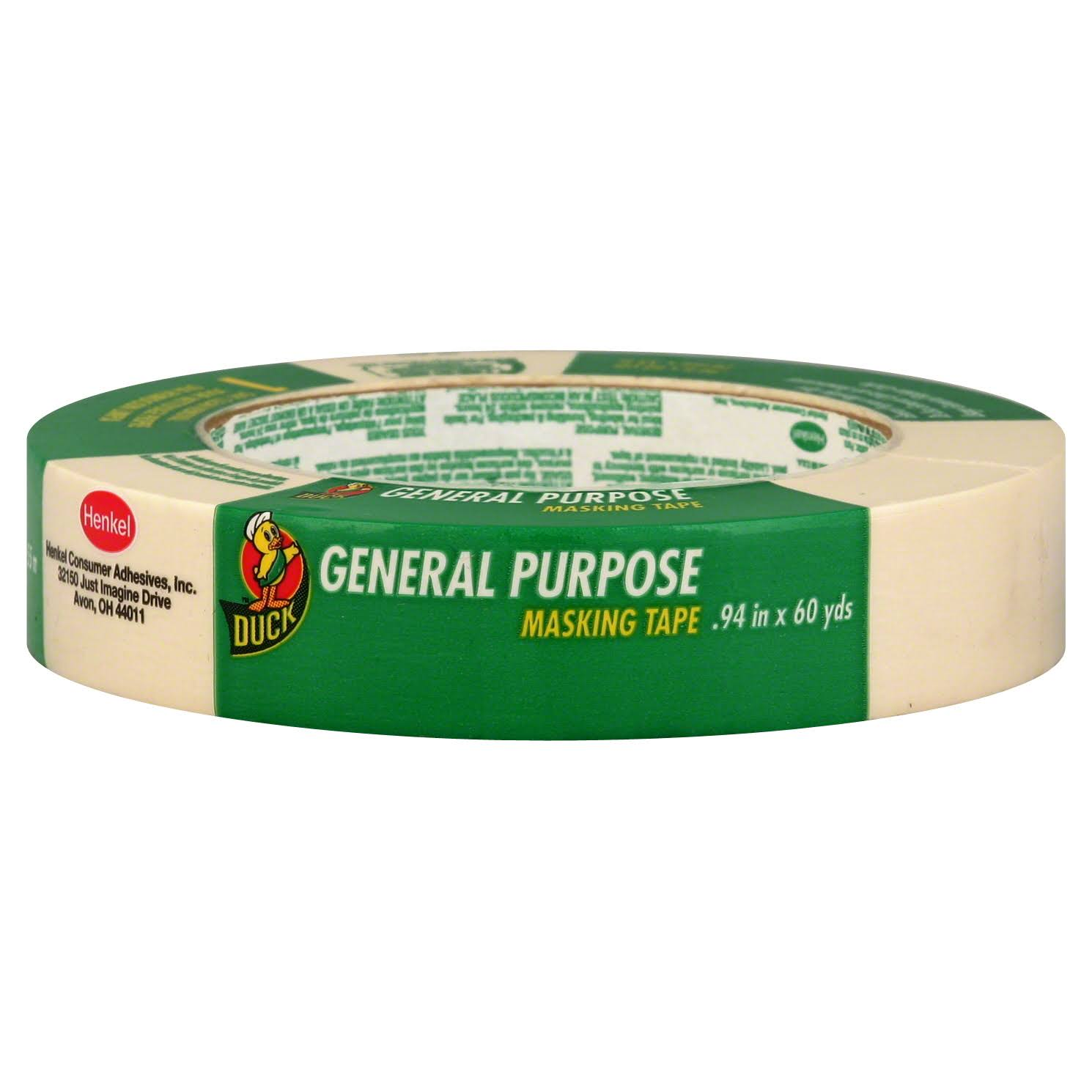 Duck General Purpose Masking Tape - 24mm x 54.86m
