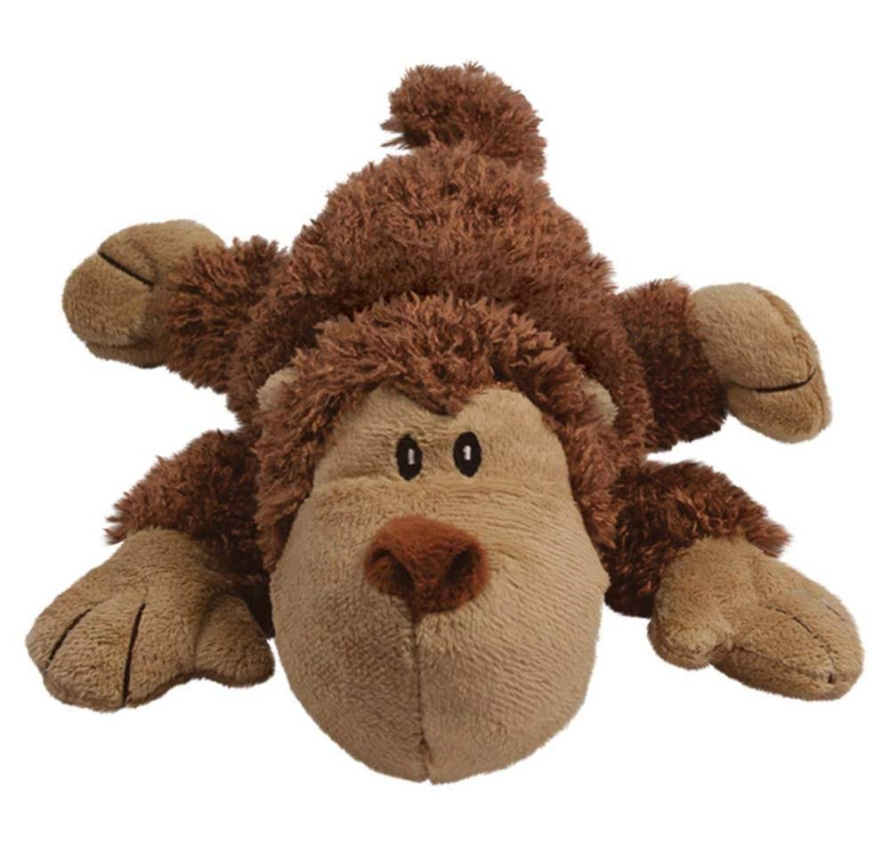 Kong Cozie Dog Toy - Spunky Monkey, Small