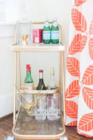 Crate And Barrel Monaco Bar Cabinet by Heather Sherrod U0027s Houston Home Tour The Everygirl