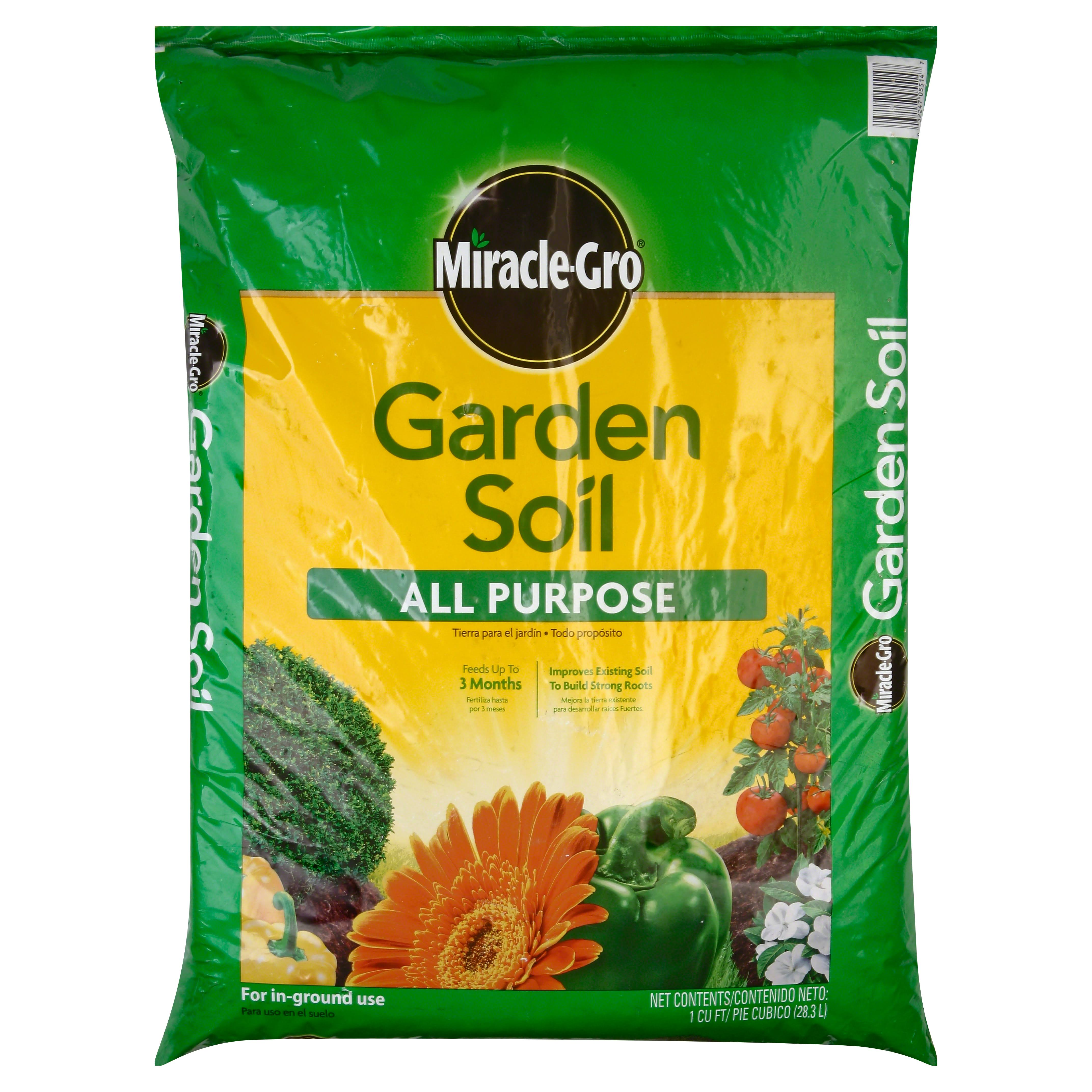 Miracle-gro 70551430 All-purpose Garden Soil - 1cu ft