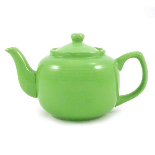 Amsterdam 6 Cup Teapot - Lime, Green
