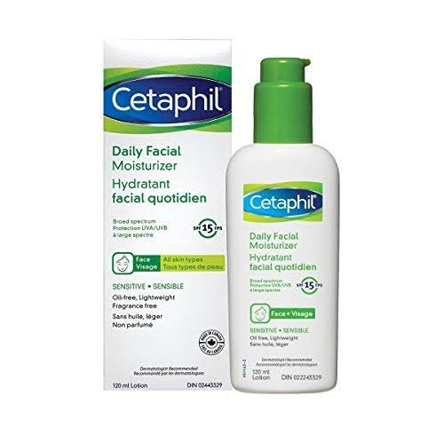 Cetaphil Daily Facial Moisturizer - SPF 15, 120ml