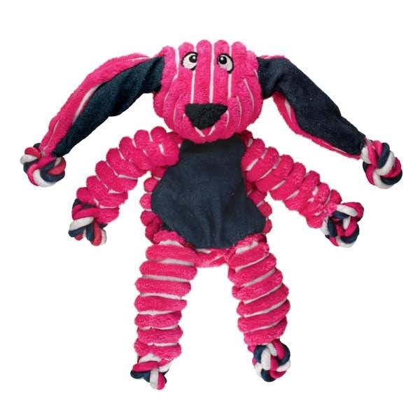 KONG Floppy Knots Bunny Dog Toy