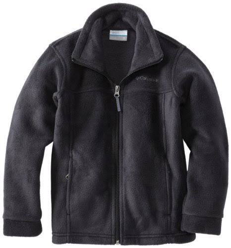 Columbia Boys' Black Steens MT II Fleece Jacket