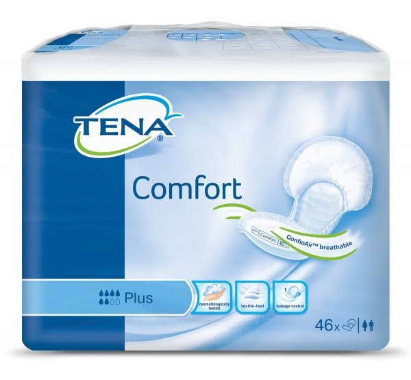 Tena Comfort Plus Pads - 46 Pack