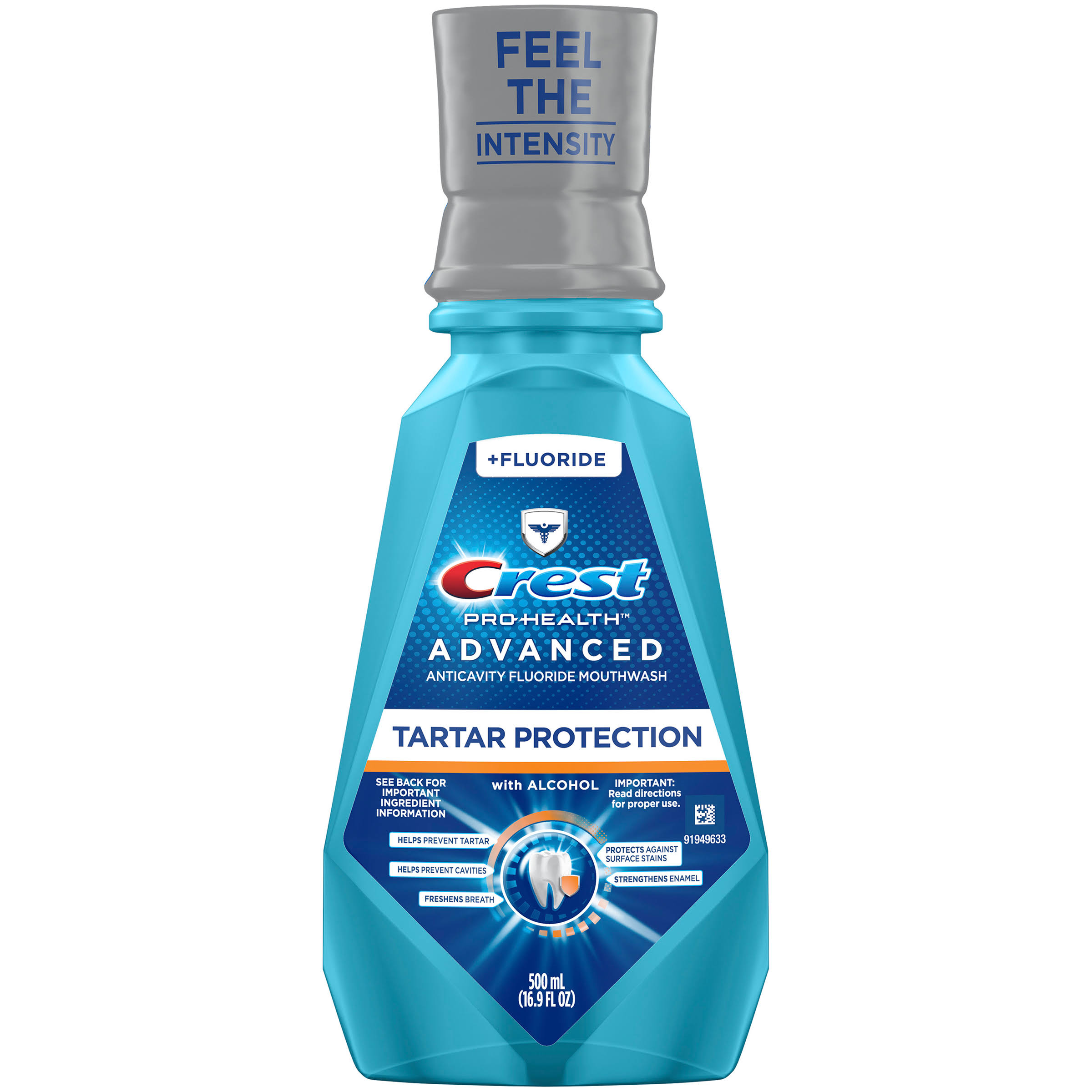 Crest Pro-Health Advanced Extra Tartar Protection Anticavity Fluoride Mouthwash - 16.9oz
