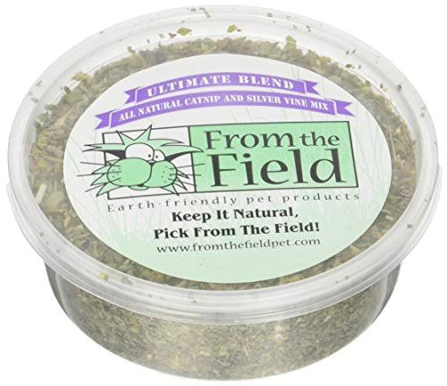 from The Field Ultimate Blend Silver Vine Organic Catnip 1oz