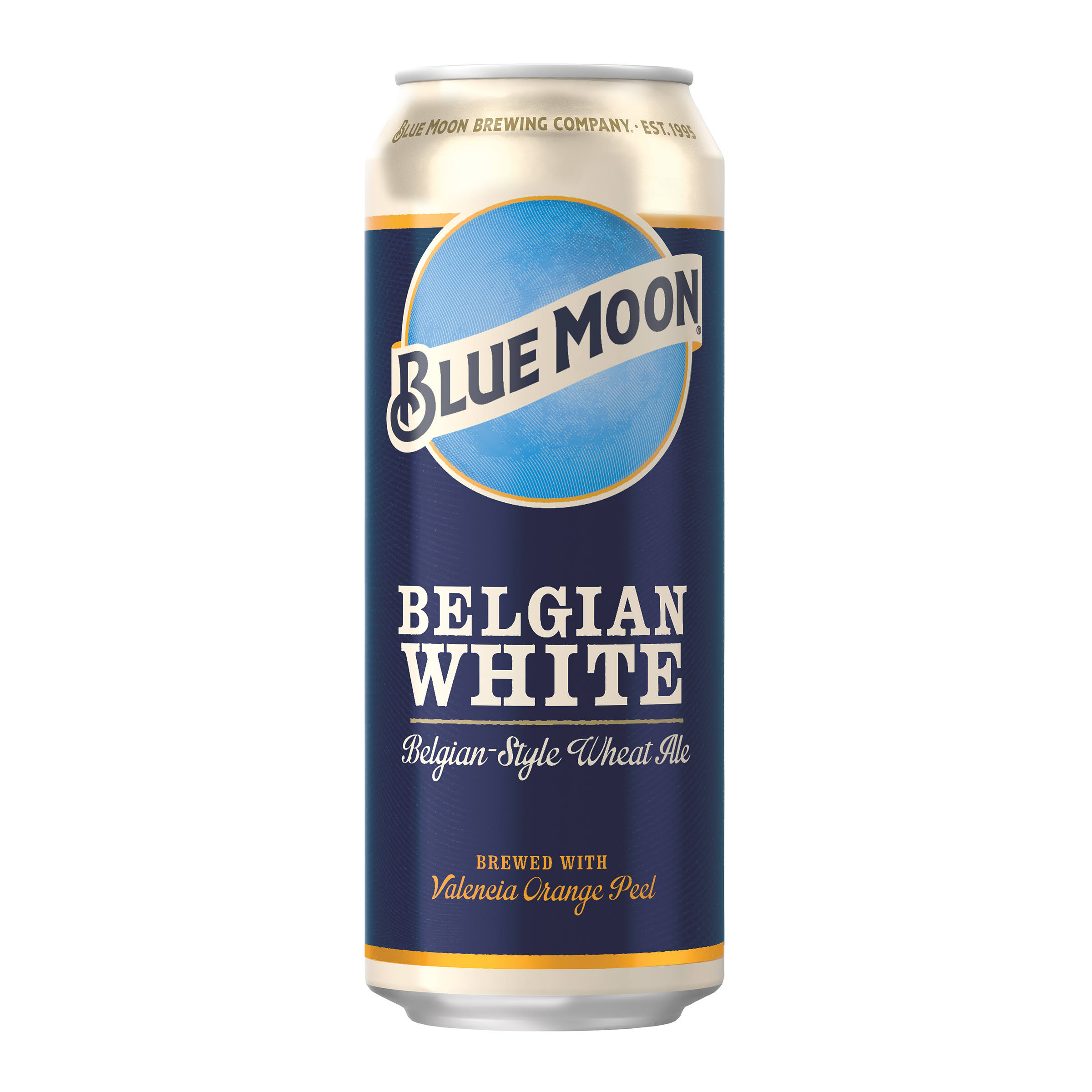 Blue Moon Belgian White Belgian-Style Wheat Ale 24 Fl. Oz. Can