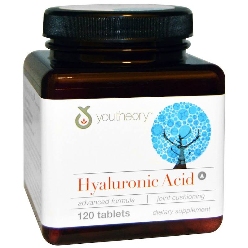 Youtheory Hyaluronic Acid Advanced Formula Tablets - x120