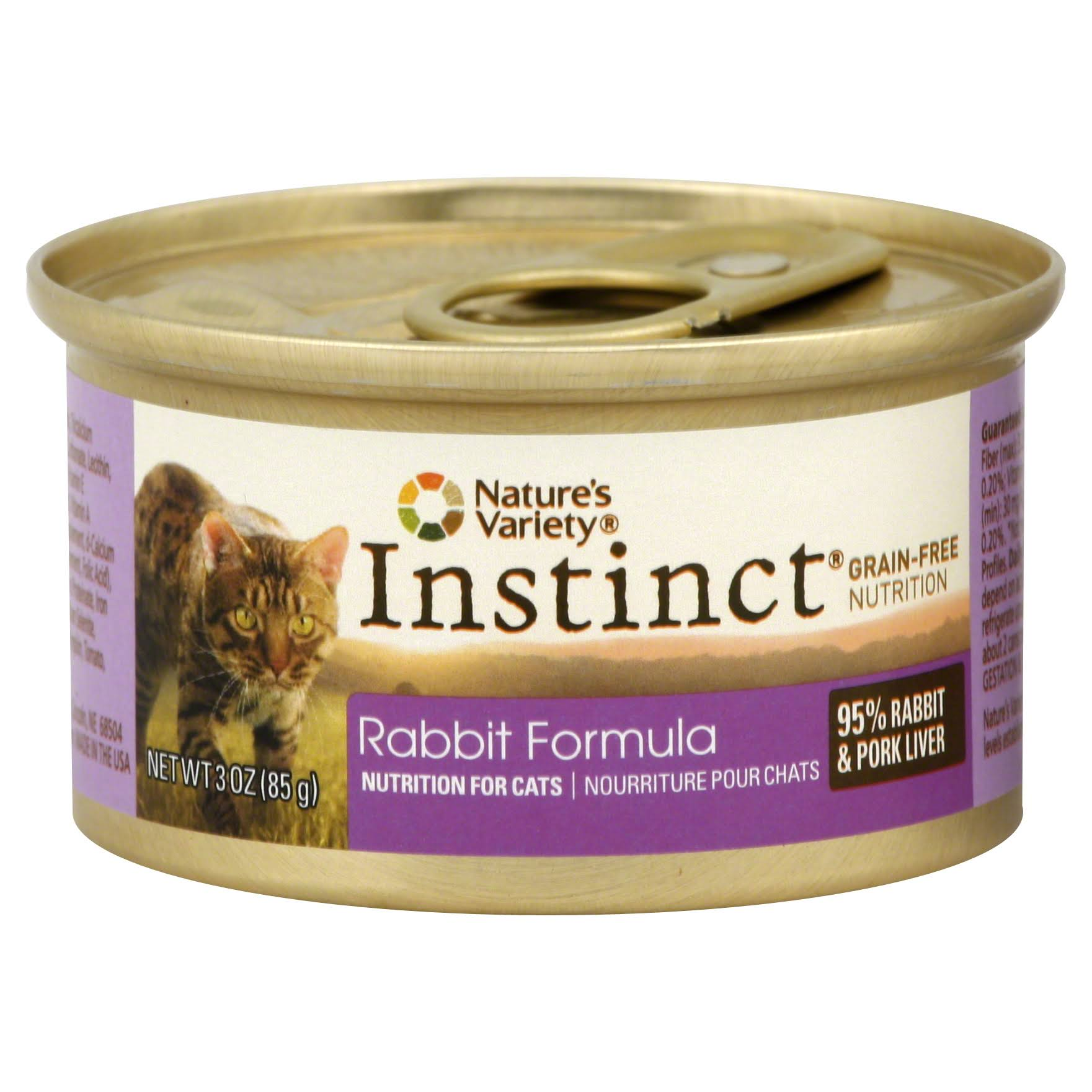 Nature's Variety Instinct Grain-Free Rabbit Canned Cat Food