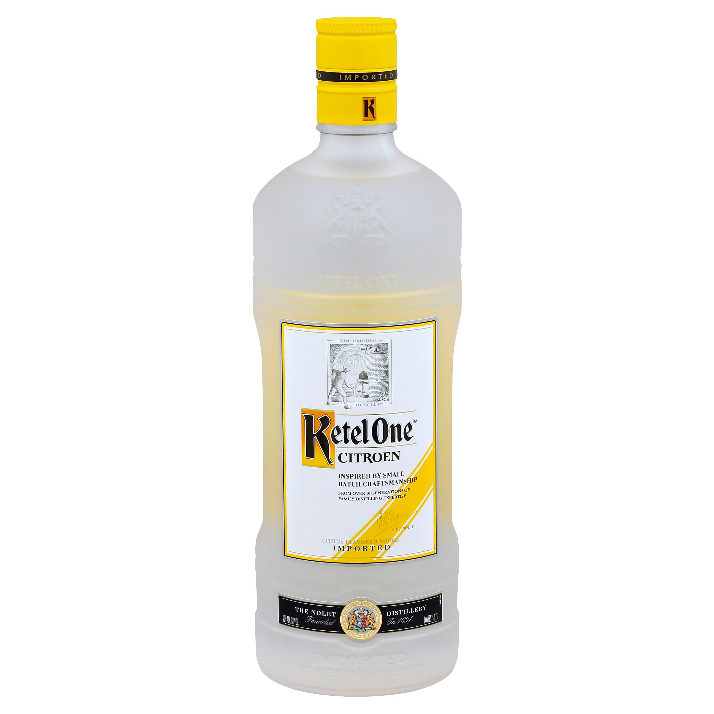 Ketel One Citroen Vodka - Citrus Flavored, 1.75L