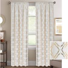 Moroccan Tile Curtain Panels by White Curtain Panels Curtain Panels Grey Curtain Panels Walmart