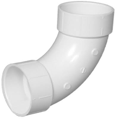 Charlotte Pipe 90 Degree PVC Elbow Pipe - 1-1/2''