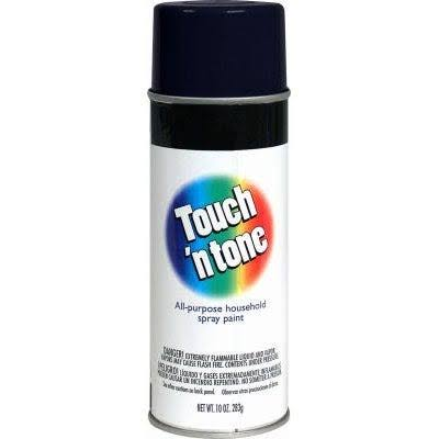 Touch ´N Tone Gloss Spray Paint - Black, 300ml