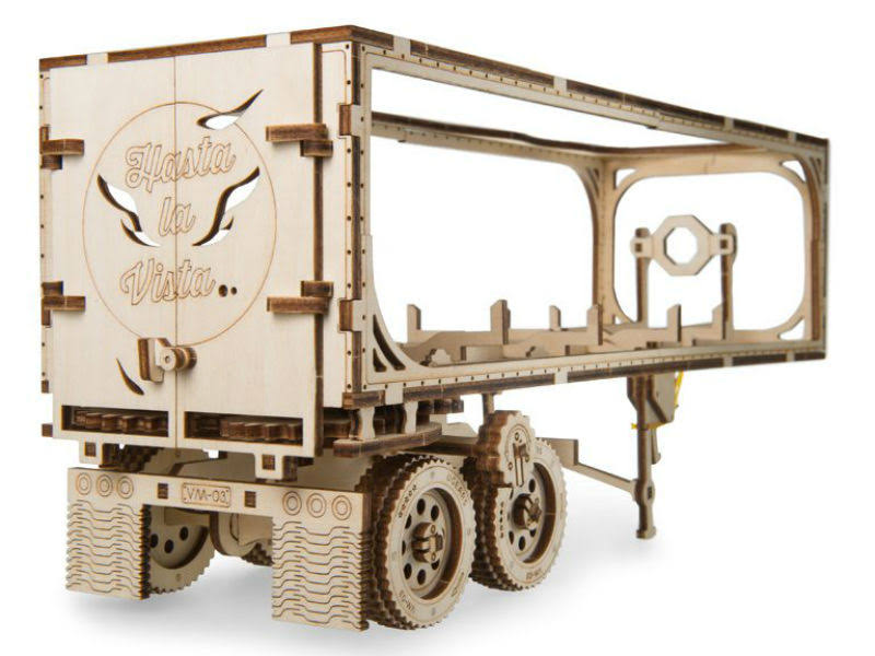 Ugears UTG0040 Trailer for Heavy Boy Truck VM-03
