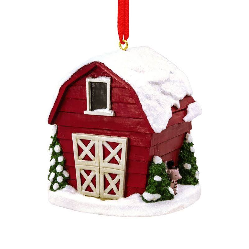 Hallmark Christmas Barn Ornament