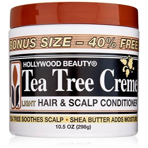 Hollywood Beauty Tea Tree Creme Hair and Scalp Conditioner