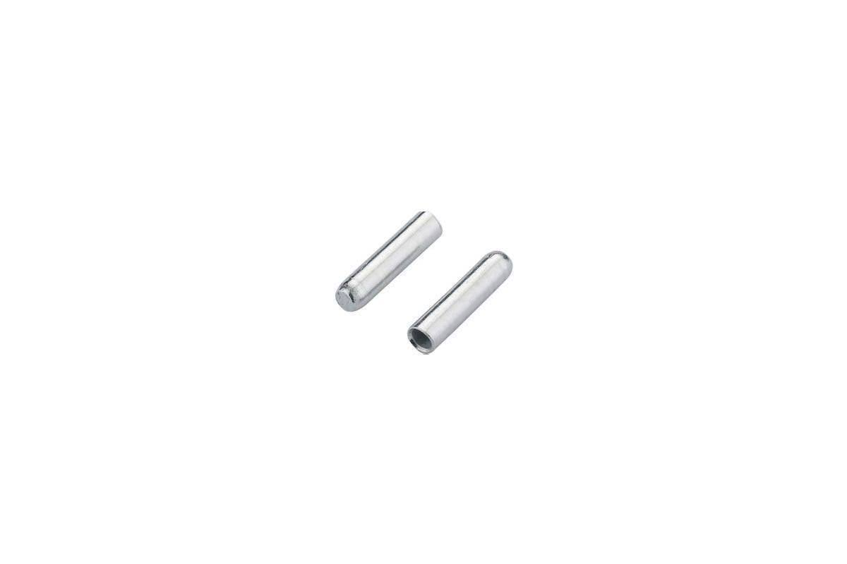 Jagwire Cable End Crimps - Silver, 1.2mm