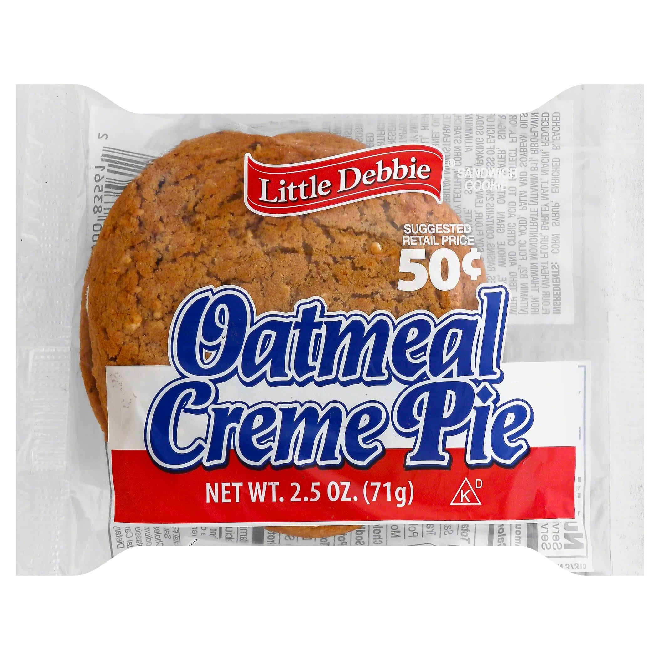 Little Debbie Snacks Oatmeal Creme Pie - 2.5oz