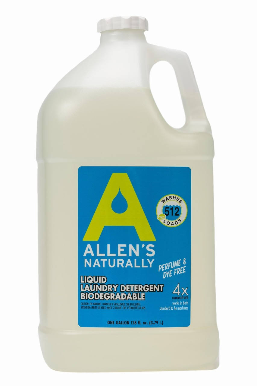 Allen's Naturally Liquid Laundry Detergent, 1 Gallon
