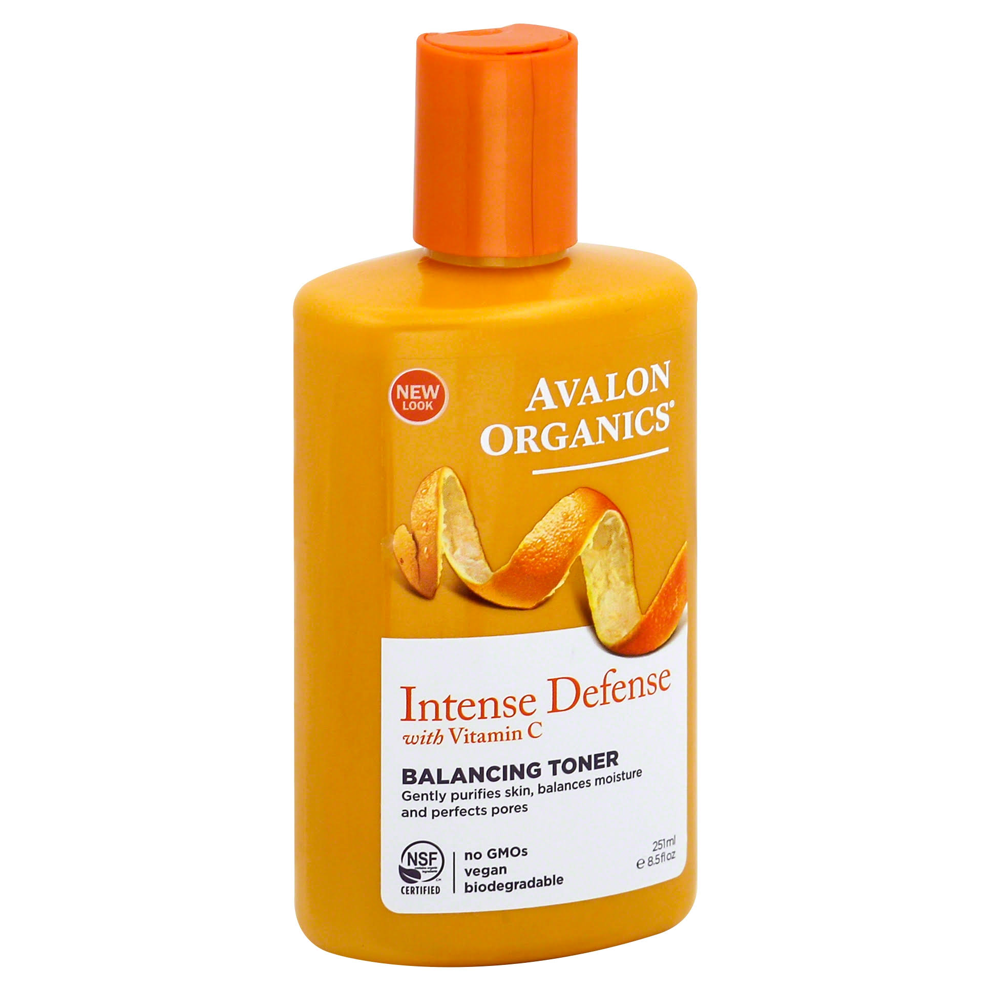 Avalon Organics Intense Defense with Vitamin C Balancing Toner - 8.5oz