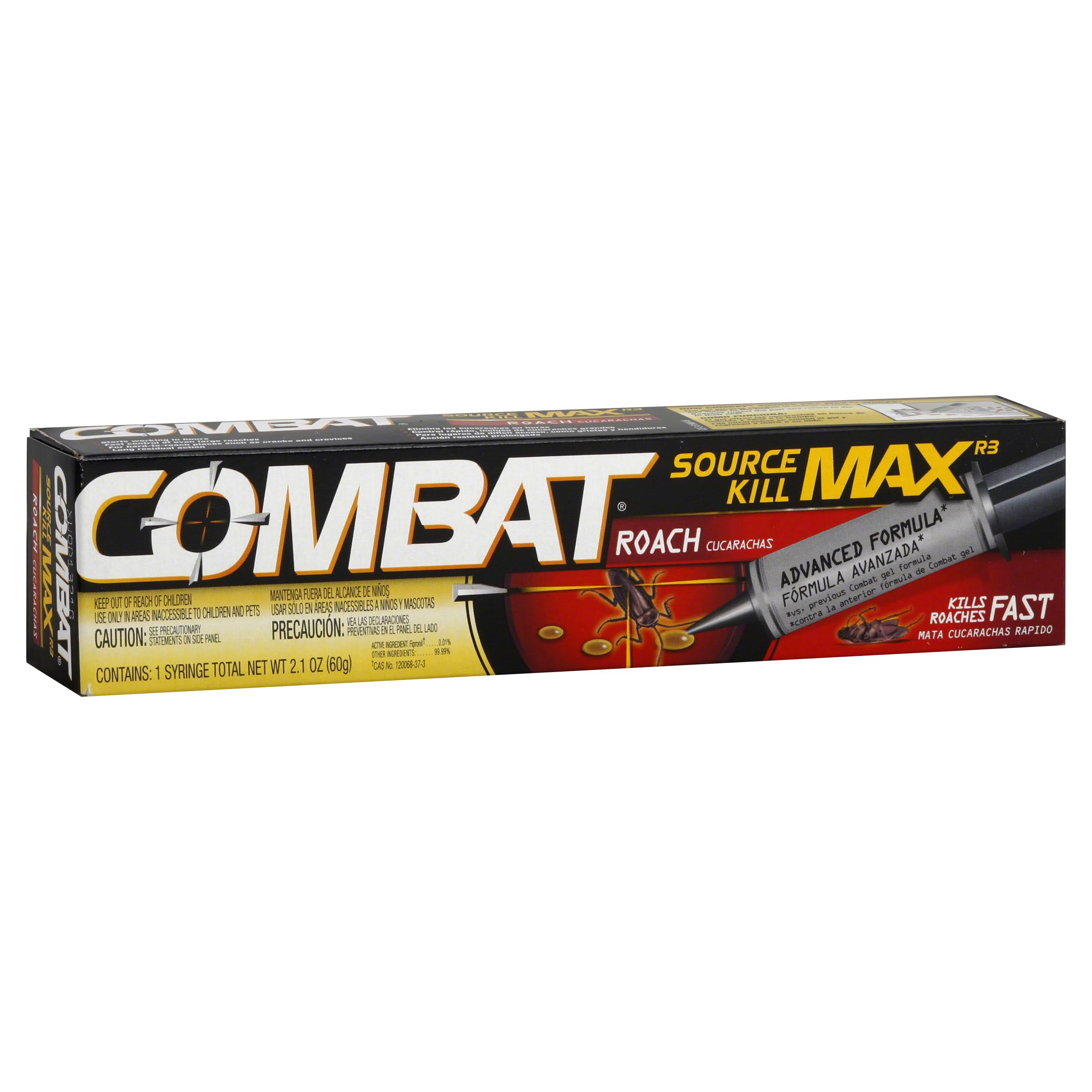 Combat Max Roach Killing Gel - 2.1oz