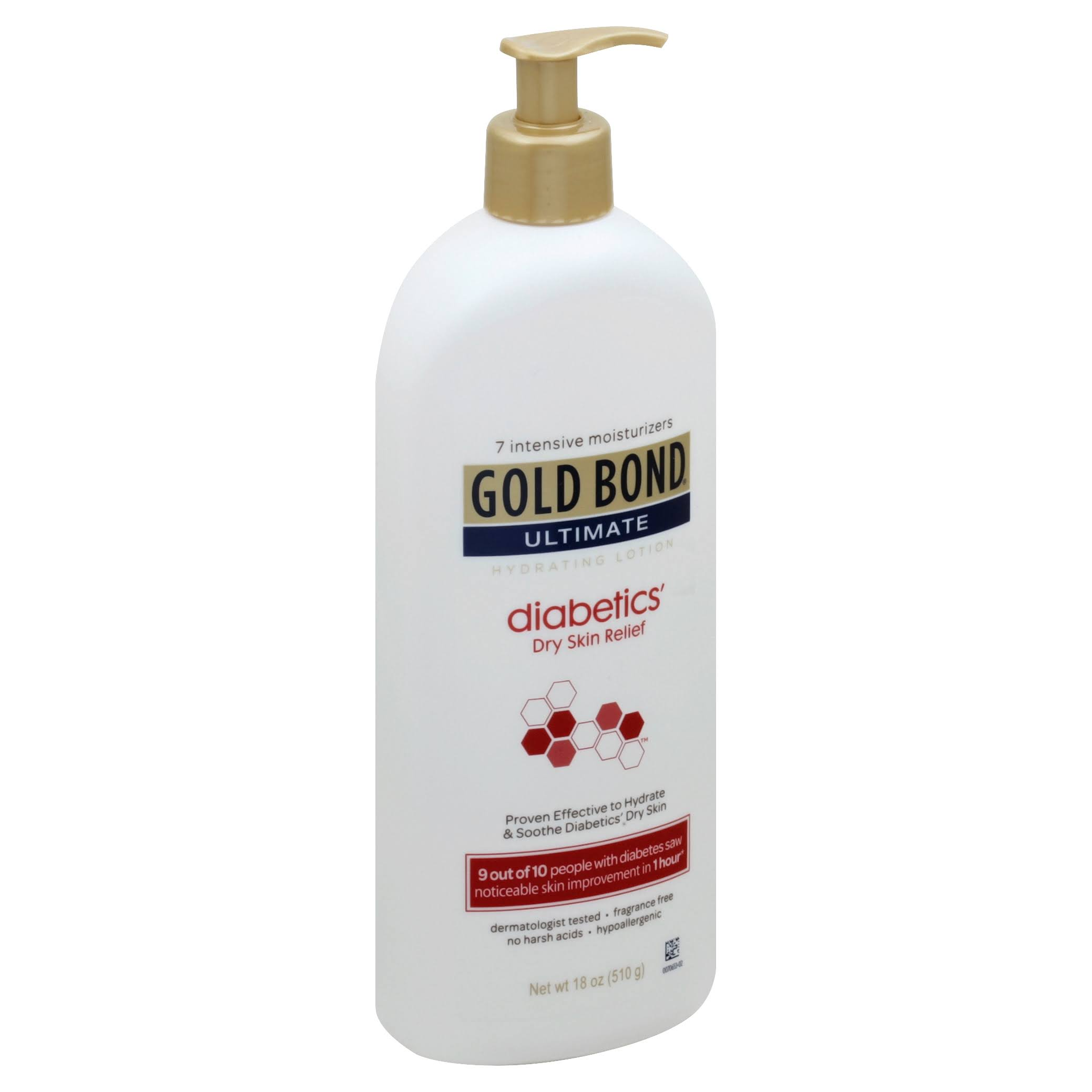 Gold Bond Ultimate Diabetics' Dry Skin Relief Hydrating Lotion - 18oz