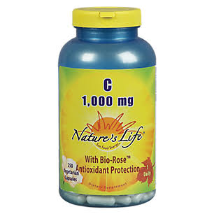 Natures Life Vitamin C Supplement - 250ct