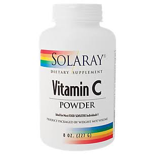 Solaray Vitamin C Powder - 5000mg, 227g