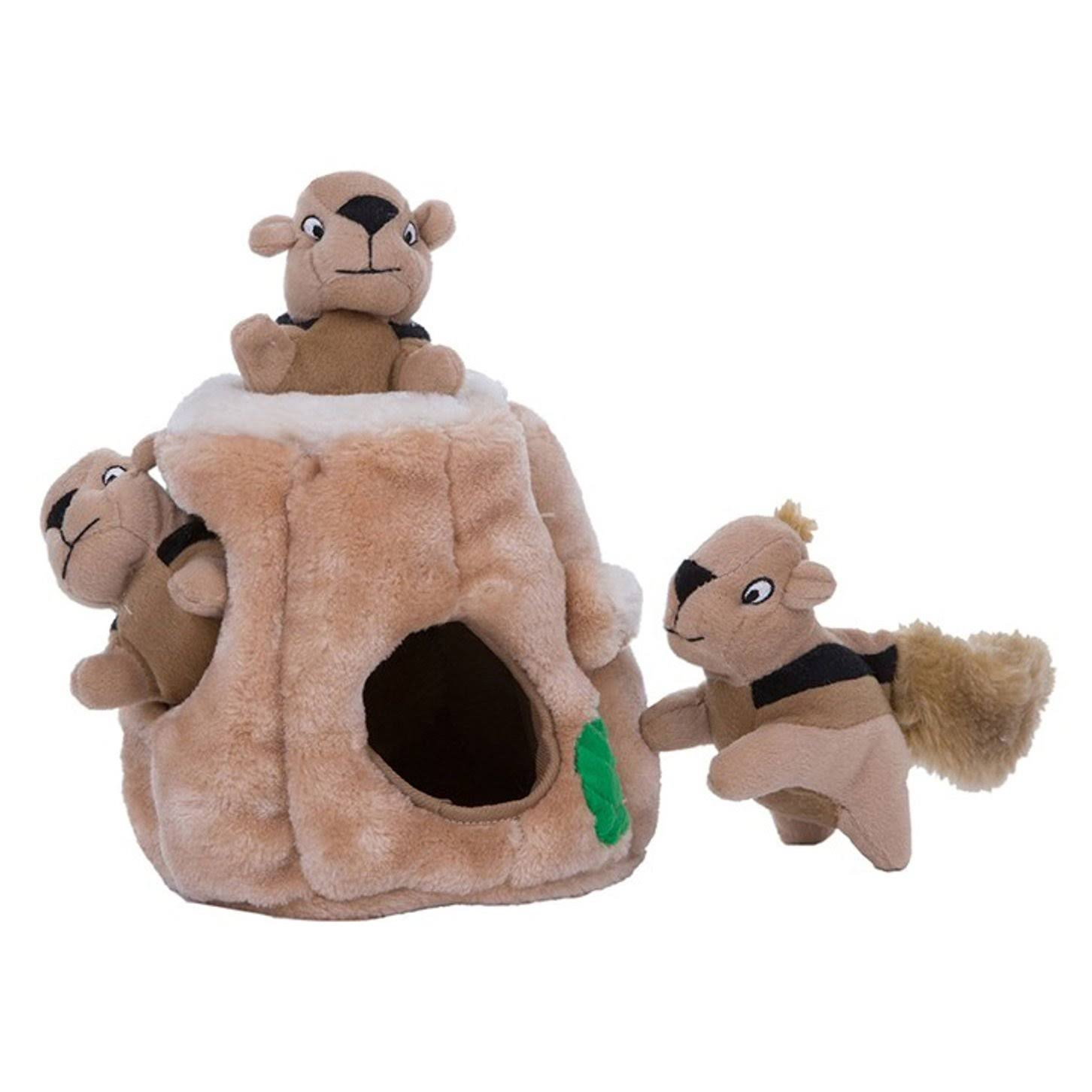 Outward Hound Hide-A-Squirrel Dog Toy