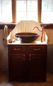 18 Inch Deep Bathroom Vanity Top inspiring diy vessel sink vanity for bathroom interior design