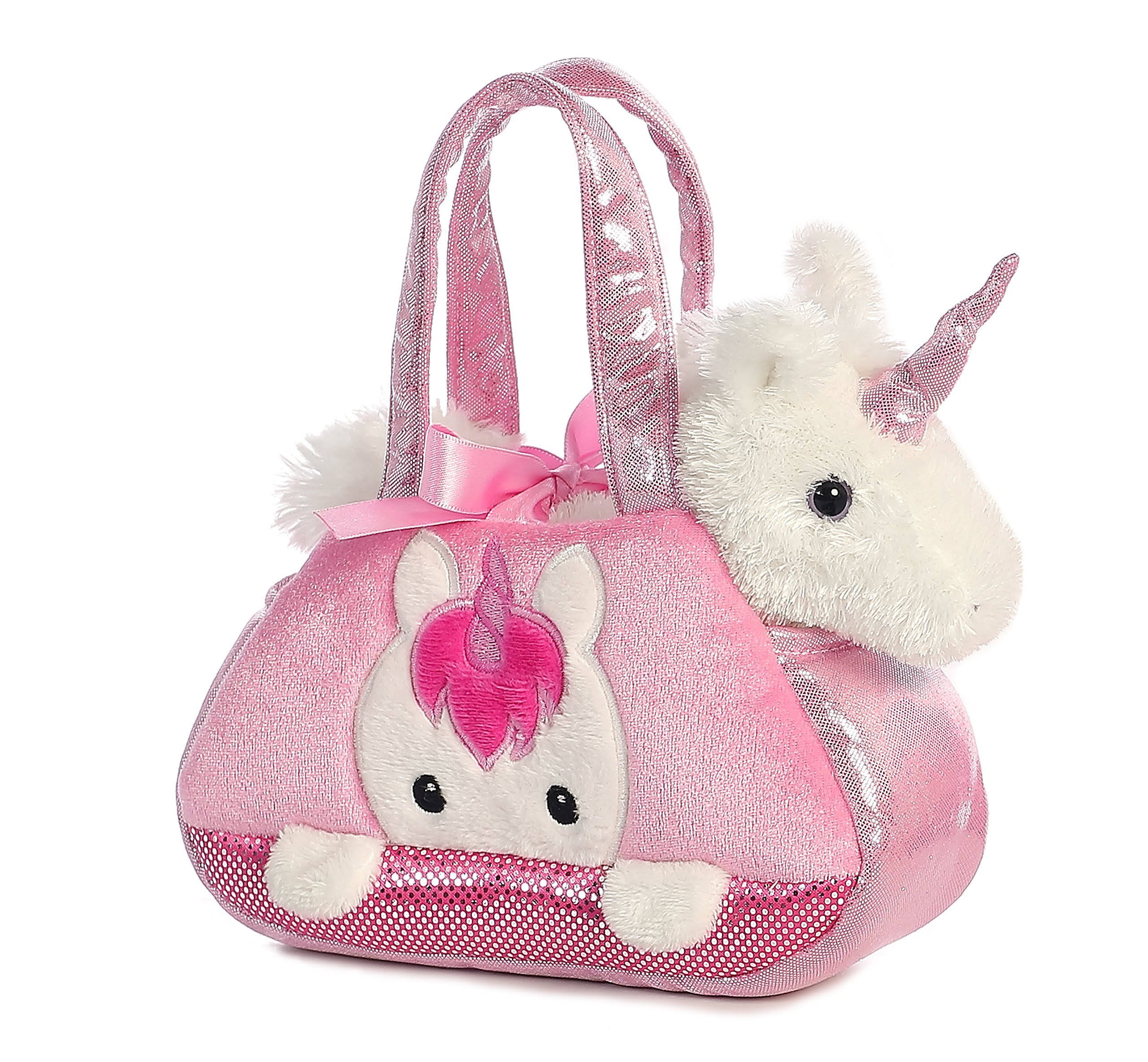 Aurora World Fancy Pals Pet Carrier Peek-A-Boo Unicorn