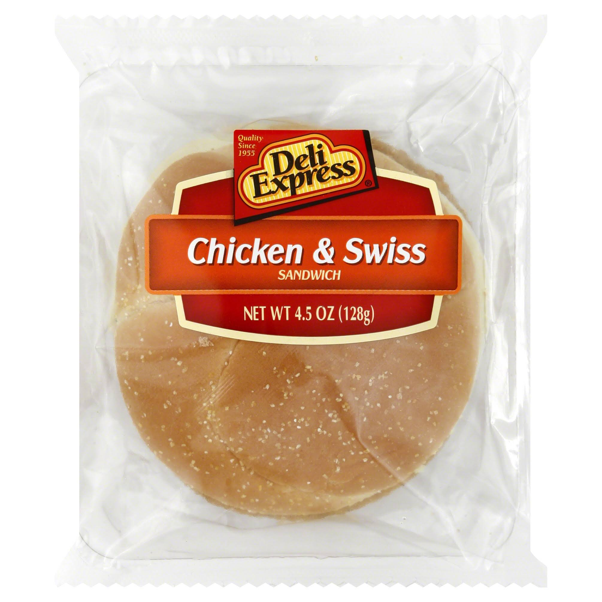 Deli Express Sandwich Chicken & Swiss