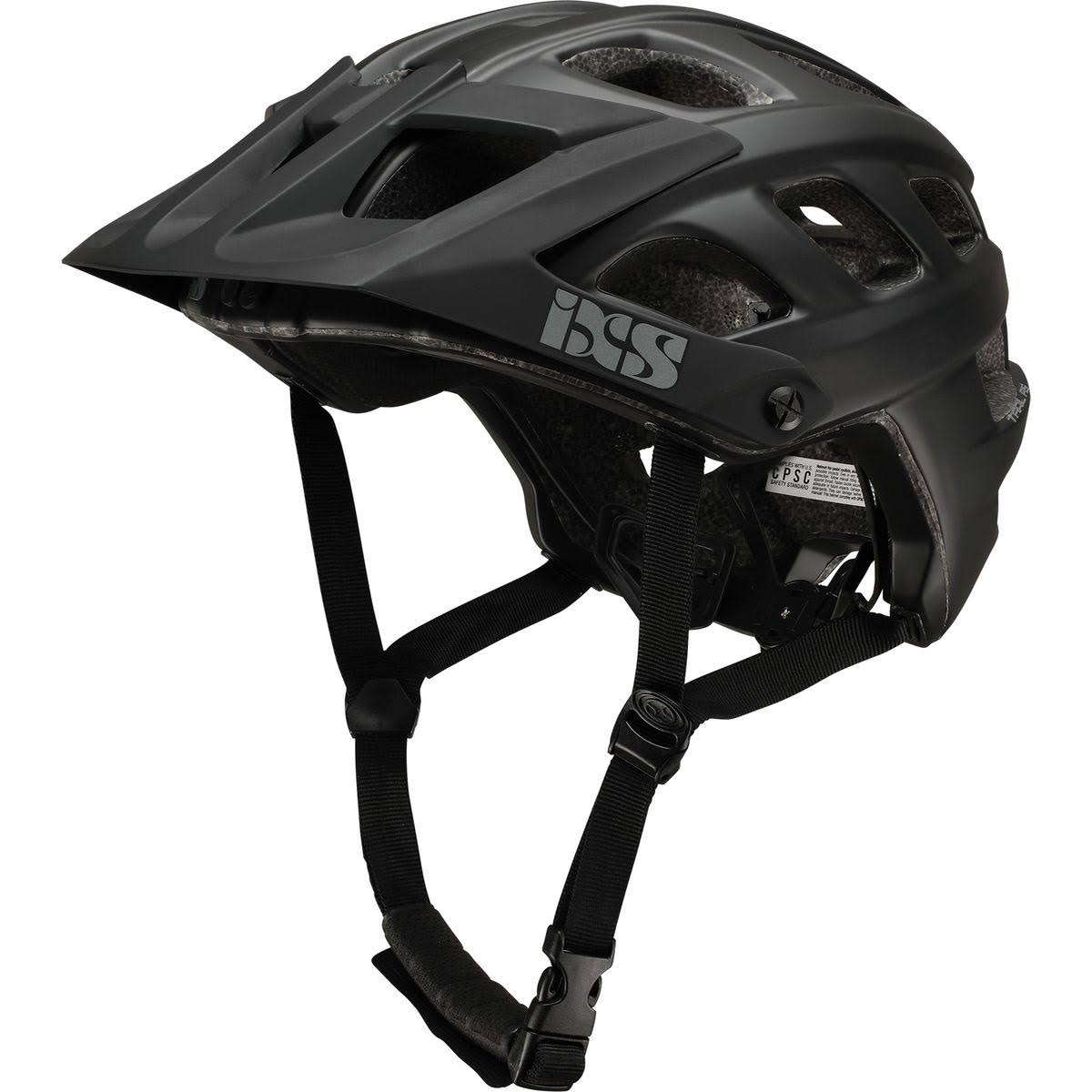 IXS Trail RS Evo Bike Helmet - Black, Small/Medium